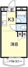 [賃貸物件]パールメゾン宮川詳細情報-間取り