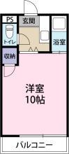 [賃貸物件]シャトル昭和町詳細情報-間取り