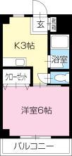 [賃貸物件]アンソレイエ弐番館詳細情報-間取り